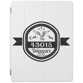 Established In 43015 Delaware iPad Cover