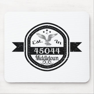 Established In 45044 Middletown Mouse Pad
