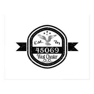 Established In 45069 West Chester Postcard