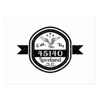 Established In 45140 Loveland Postcard