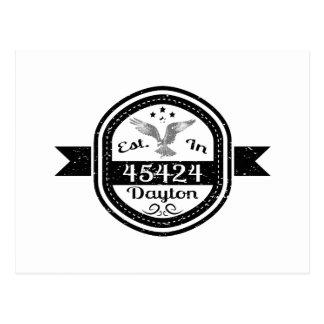 Established In 45424 Dayton Postcard