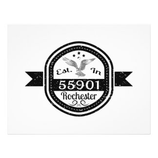 Established In 55901 Rochester Flyer