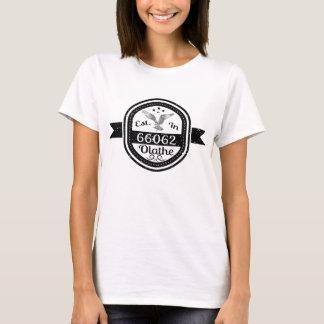 Established In 66062 Olathe T-Shirt