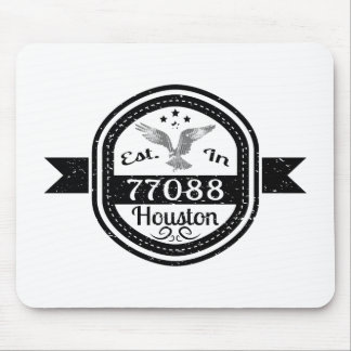 Established In 77088 Houston Mouse Pad
