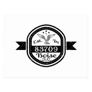 Established In 83709 Boise Postcard