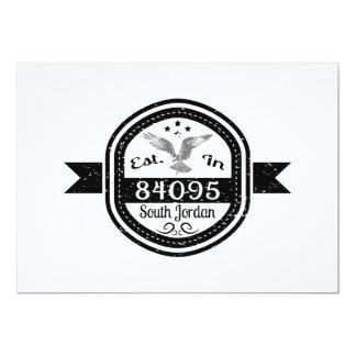 Established In 84095 South Jordan Card