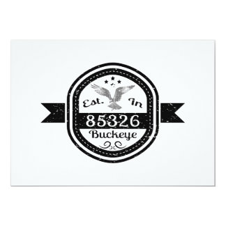 Established In 85326 Buckeye Card