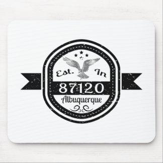 Established In 87120 Albuquerque Mouse Pad