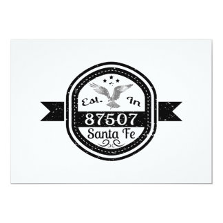 Established In 87507 Santa Fe Card