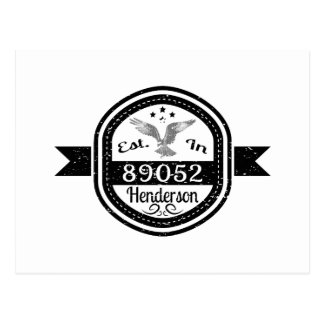 Established In 89052 Henderson Postcard