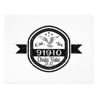 Established In 91910 Chula Vista Flyer