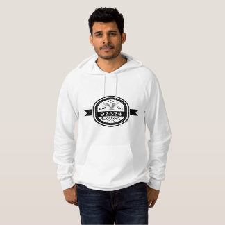 Established In 92324 Colton Hoodie
