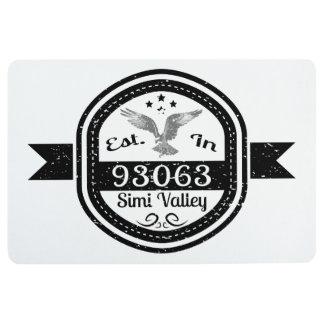 Established In 93063 Simi Valley Floor Mat