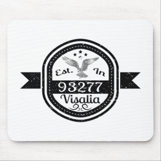 Established In 93277 Visalia Mouse Pad