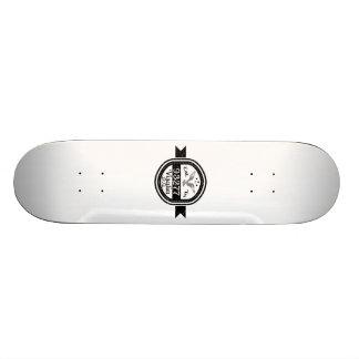 Established In 93277 Visalia Skateboard Deck