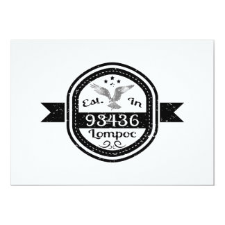 Established In 93436 Lompoc Card