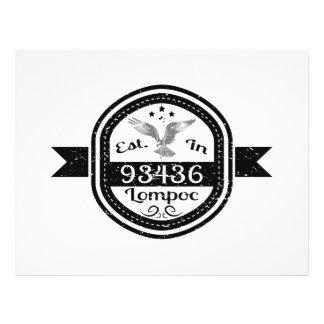 Established In 93436 Lompoc Flyer
