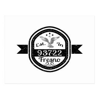 Established In 93722 Fresno Postcard