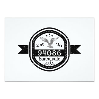Established In 94086 Sunnyvale Card