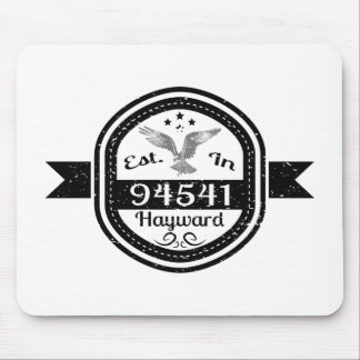 Established In 94541 Hayward Mouse Pad