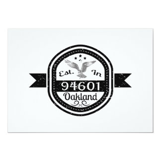 Established In 94601 Oakland Card