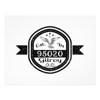 Established In 95020 Gilroy Flyer