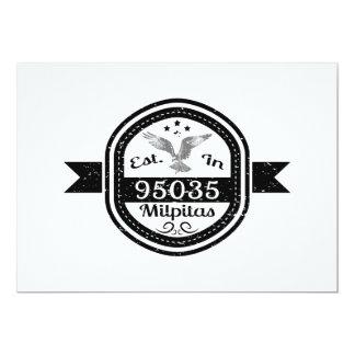 Established In 95035 Milpitas Card