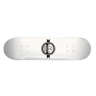 Established In 95051 Santa Clara Skateboard Deck