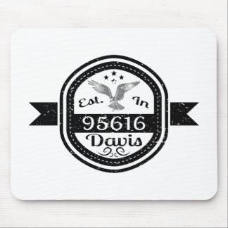 Established In 95616 Davis Mouse Pad