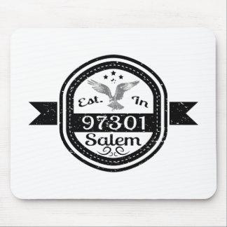 Established In 97301 Salem Mouse Pad