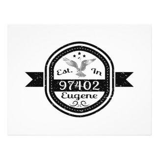 Established In 97402 Eugene Flyer