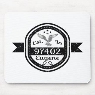 Established In 97402 Eugene Mouse Pad
