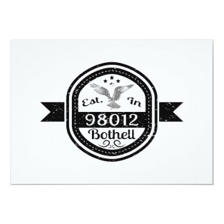 Established In 98012 Bothell Card