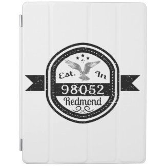 Established In 98052 Redmond iPad Cover