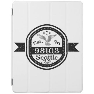 Established In 98103 Seattle iPad Cover