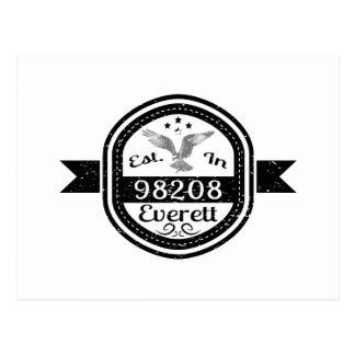Established In 98208 Everett Postcard