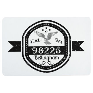 Established In 98225 Bellingham Floor Mat