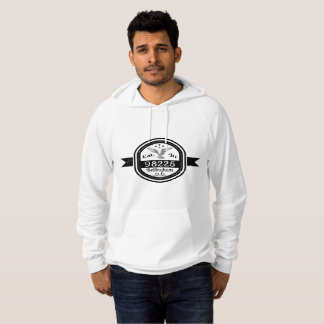 Established In 98225 Bellingham Hoodie