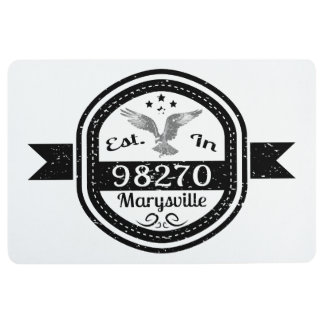 Established In 98270 Marysville Floor Mat