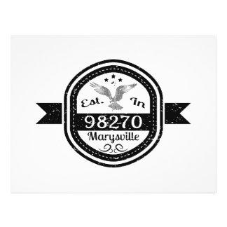 Established In 98270 Marysville Flyer