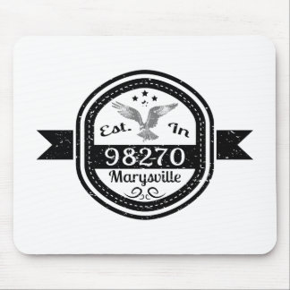 Established In 98270 Marysville Mouse Pad