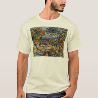 Estaque By Pierre-Auguste Renoir (Best Quality) T-Shirt