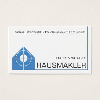 estate agent business card