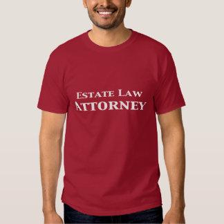 Estate Law Attorney Gifts Tshirt