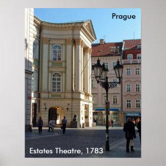 Estates Theatre, Prague, 2006 Poster