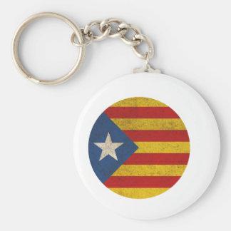 Estelada Catalonia Lliure Keychain