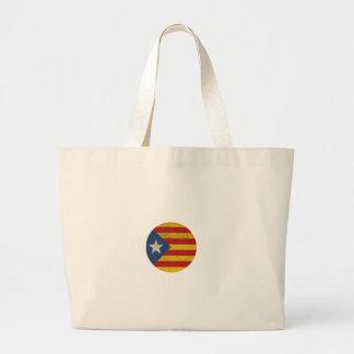 Estelada Catalonia Lliure Large Tote Bag
