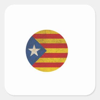 Estelada Catalonia Lliure Square Sticker