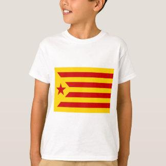 Estelada Roja - Bandera independentista Catalana T-Shirt