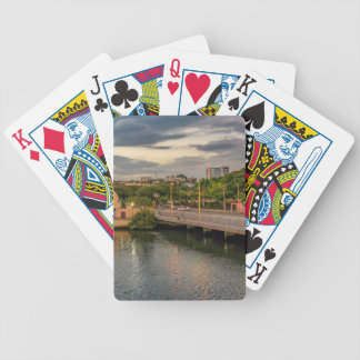 Estero Salado River Guayaquil Ecuador Bicycle Playing Cards
